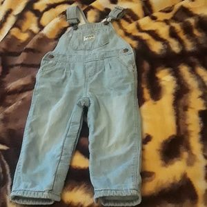 18mths fleece overalls